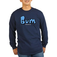 Bum Long Sleeve Dark T-Shirt