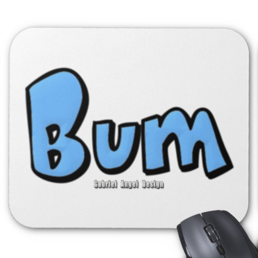 Bum Mousepad