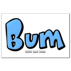 Bum Small Posters