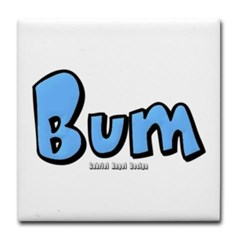 Bum Tile Coaster
