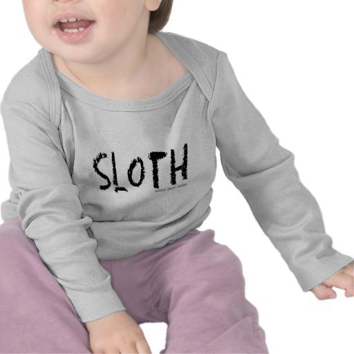 Sloth Logo Infant Bella Long Sleeve T-Shirt