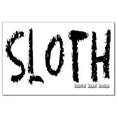 Sloth Logo Small Posters