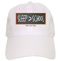 Sleep is Greater than School Baseball Cap