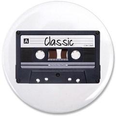 "Classic Cassette 3.5"" Button"