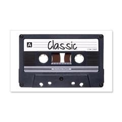 Classic Cassette 38.5 x 24.5 Wall Peel