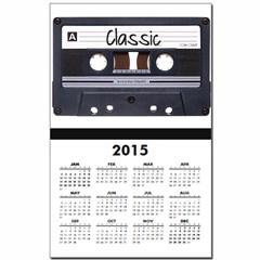 Classic Cassette Calendar Print