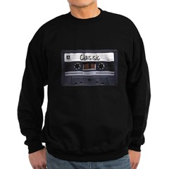 Classic Cassette Dark Sweatshirt