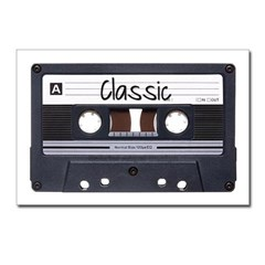 Classic Cassette Postcards (Package of 8)
