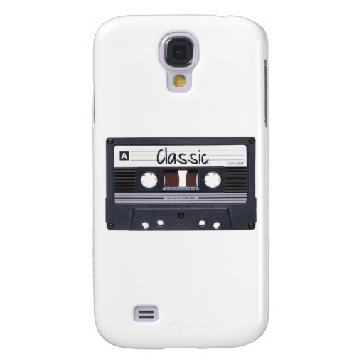 Classic Cassette Tape Case-Mate Barely There Samsung Galaxy S4 Case