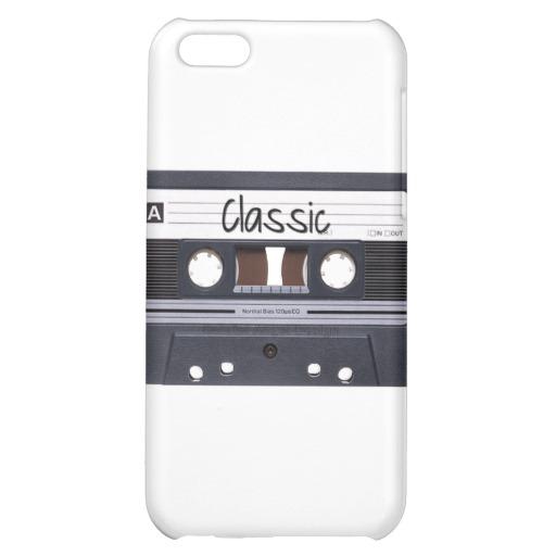 Classic Cassette Tape Case Savvy Matte Finish iPhone 5C Case