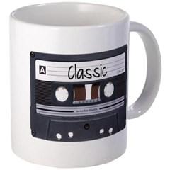 Classic Cassette Tape Coffee Mug