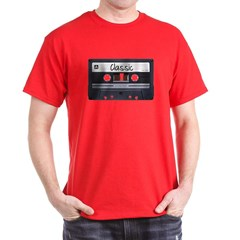 Classic Cassette Tape Dark T-shirt