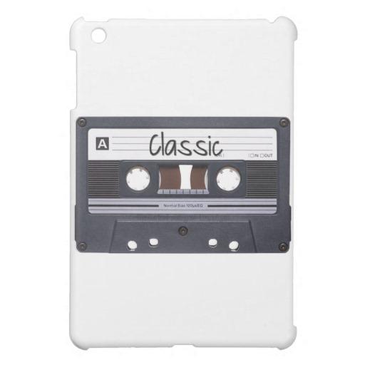 Classic Cassette Tape iPad Mini Matte Finish Case