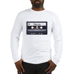 Classic Cassette Tape Long Sleeve T-Shirt