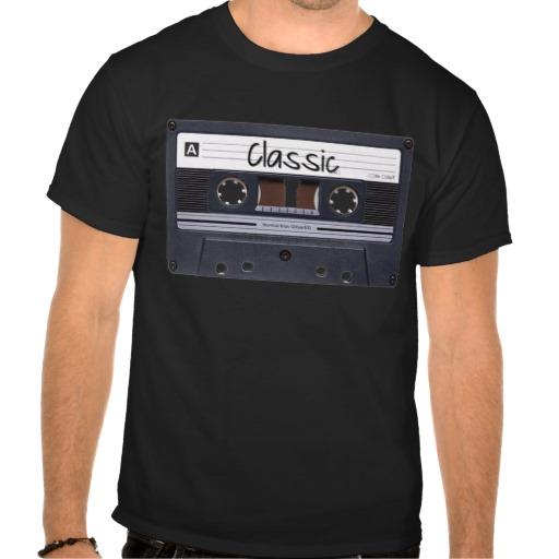 Classic Cassette Tape Men's Basic Dark T-Shirt
