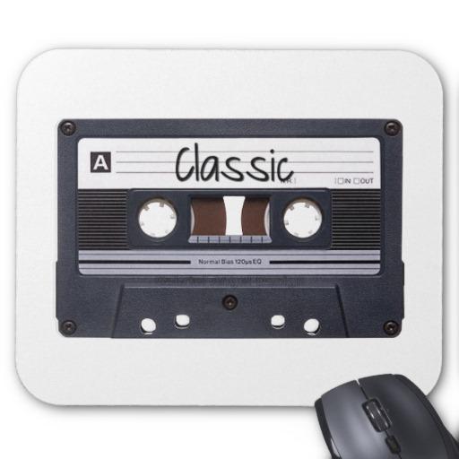Classic Cassette Tape Mousepad