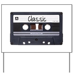 Classic Cassette Yard Sign