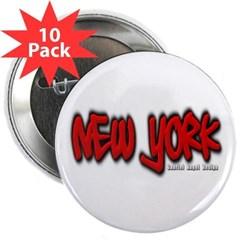 "New York Graffiti 2.25"" Button (10 pack)"