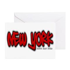 New York Graffiti Greeting Cards (Pk of 10)