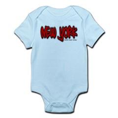 New York Graffiti Infant Bodysuit