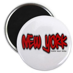 New York Graffiti Magnet