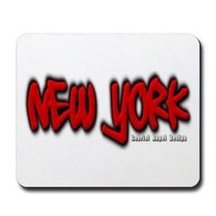 New York Graffiti Mousepad