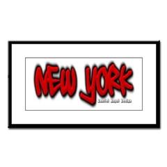 New York Graffiti Small Framed Print