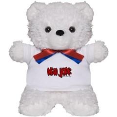 New York Graffiti Teddy Bear
