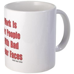 Bad Poker Faces Coffee Mug