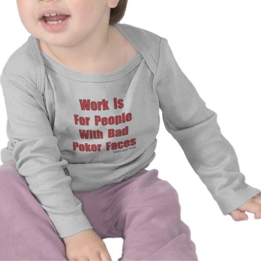 Bad Poker Faces Infant Bella Long Sleeve T-Shirt