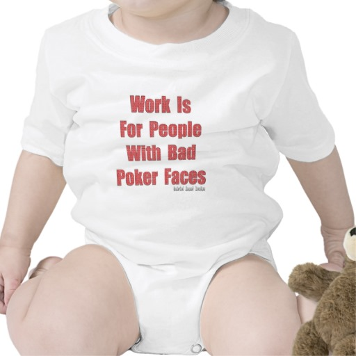 Bad Poker Faces Infant Creeper