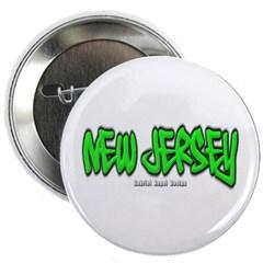 New Jersey Graffiti Button