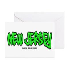 New Jersey Graffiti Greeting Cards (Pk of 10)