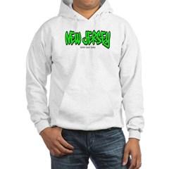 New Jersey Graffiti Hooded Sweatshirt