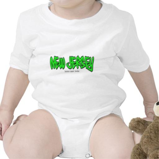 New Jersey Graffiti Infant Creeper