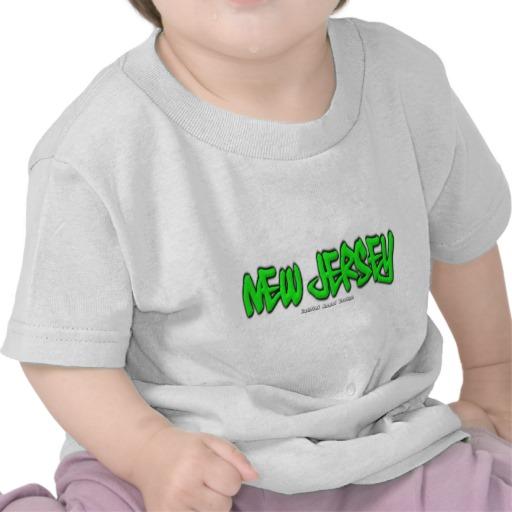 New Jersey Graffiti Infant T-Shirt