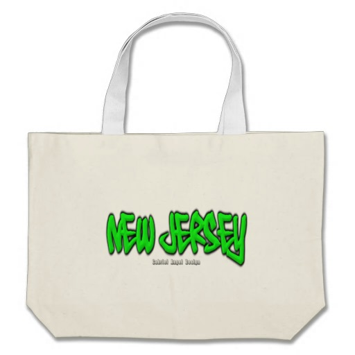 New Jersey Graffiti Jumbo Tote