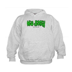 New Jersey Graffiti Kids Sweatshirt by Hanes