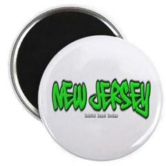 New Jersey Graffiti Magnet