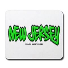 New Jersey Graffiti Mousepad