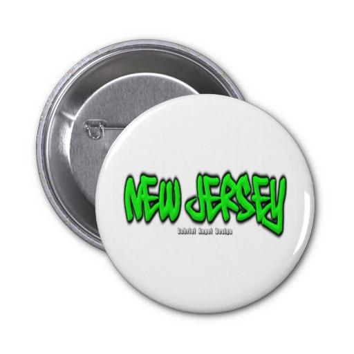 New Jersey Graffiti Pins