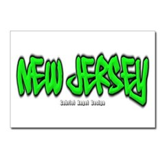 New Jersey Graffiti Postcards (Package of 8)