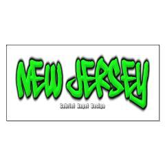 New Jersey Graffiti Posters