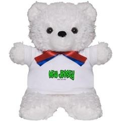 New Jersey Graffiti Teddy Bear