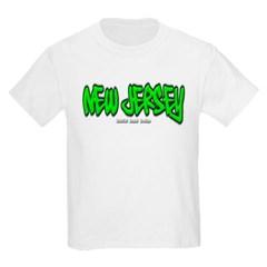 New Jersey Graffiti Youth T-Shirt by Hanes