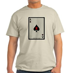 Ace of Spades Card Classic T-Shirt