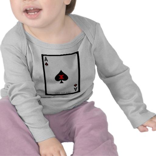 Ace of Spades Card Infant Bella Long Sleeve T-Shirt