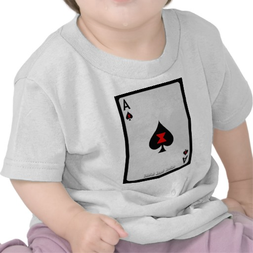 Ace of Spades Card Infant T-Shirt