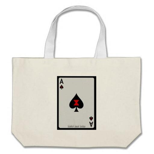Ace of Spades Card Jumbo Tote