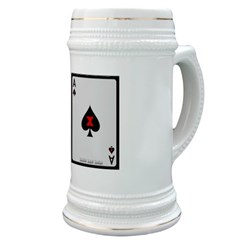 Ace of Spades Card Stein